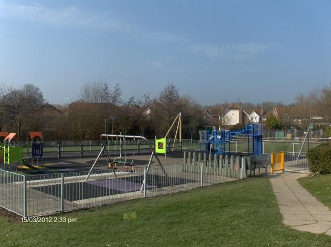 Holbrook Tythe Barn Play Area
