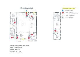 North Heath Hall Floor Plan