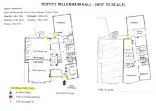 Roffey Millennium Hall Floor Plan