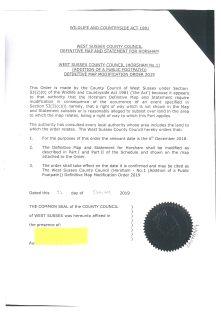 DMMO Coney Croft Public Inquiry 24.03.2020 page 3