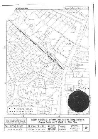 DMMO Coney Croft Public Inquiry 24.03.2020 page 5